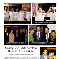 chef tear sheet